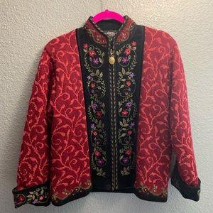 Icelandic Beautifuls Sweater Jacket Unique design